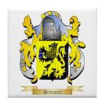 Simson Tile Coaster
