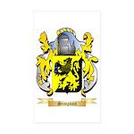 Simpson Sticker (Rectangle 50 pk)