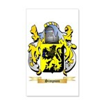 Simpson 35x21 Wall Decal