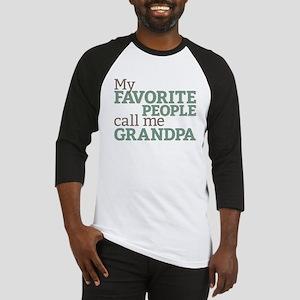 Call Me Grandpa Baseball Jersey