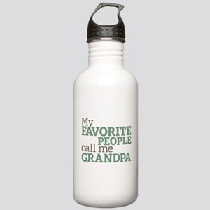 Call Me Grandpa Stainless Water Bottle 1.0L