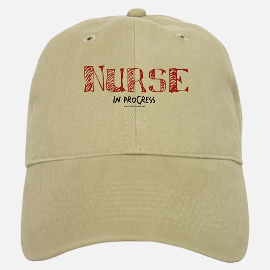 Nurse in Progress Baseball Baseball Cap