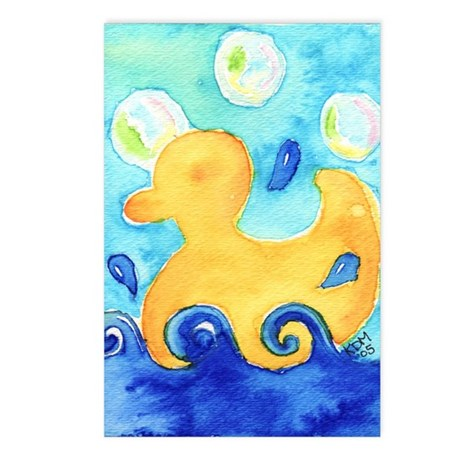Rubber Ducky Postcards (Package of 8)