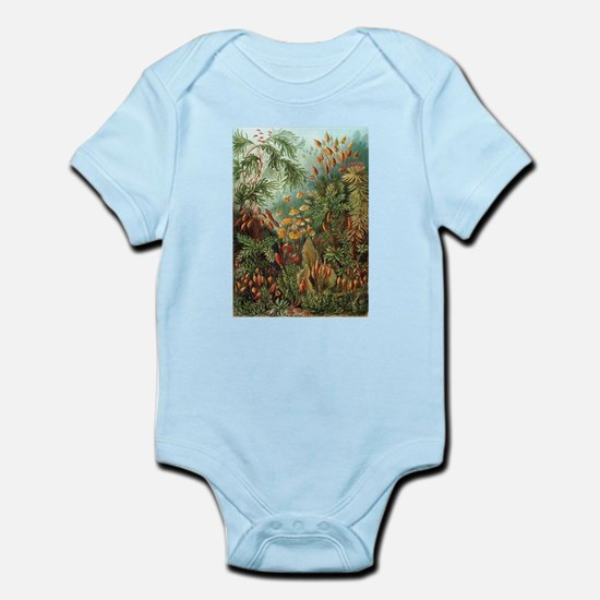 Vintage Plants Decorative Body Suit