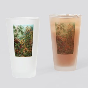 Vintage Plants Decorative Drinking Glass
