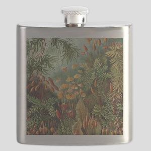 Vintage Plants Decorative Flask