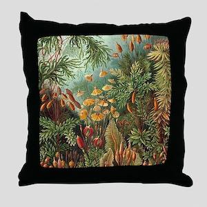 Vintage Plants Decorative Throw Pillow