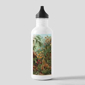 Vintage Plants Decorat Stainless Water Bottle 1.0L