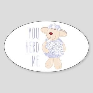 Herd Me Sticker