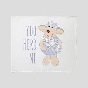 Herd Me Throw Blanket