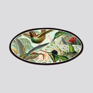 Vintage Hummingbirds Decorative Patch