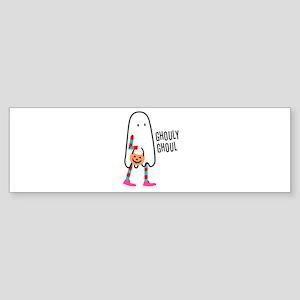 Ghouly Ghoul Bumper Sticker