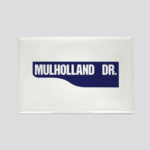 Mulholland Drive, Old-Style Stree Rectangle Magnet