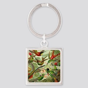 Vintage Hummingbirds Decorative Keychains
