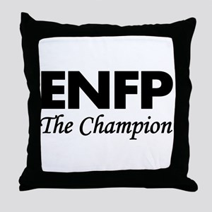ENFP | The Champion Throw Pillow