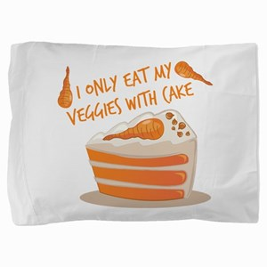 Veggie Cake Pillow Sham