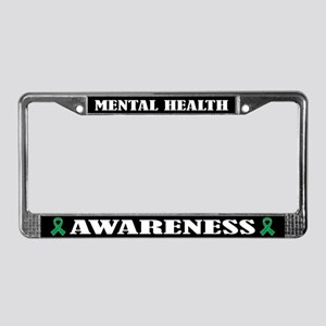 Mental Health Awareness License Plate Frame