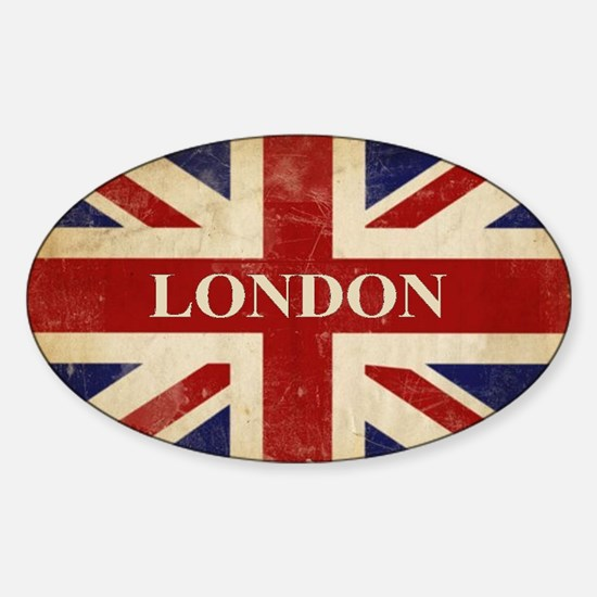 London - Union Jack Decal
