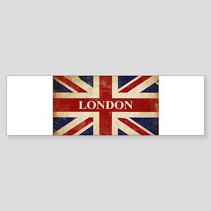 London - Union Jack Bumper Sticker