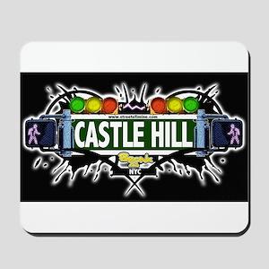 castlehill (Black) Mousepad