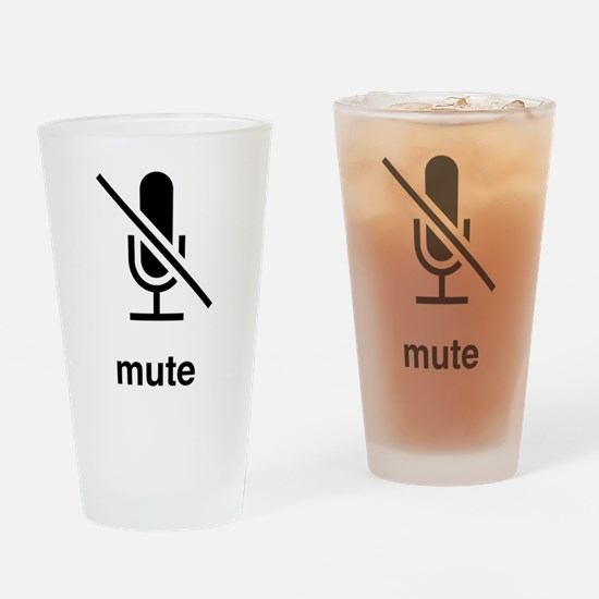 Funny Ringer Drinking Glass