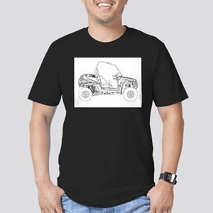 Side X Side Drawing T-Shirt