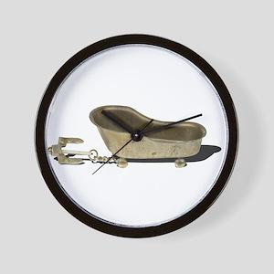 Vintage Bathtub Anchor Wall Clock