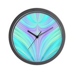 Multi-color Fractal Wall Clock