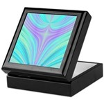 Multi-color Fractal Keepsake Box