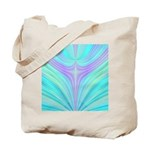 Multi-color Fractal Tote Bag