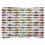 14 Trout and Salmon Pattern cp Pillow Sham