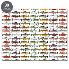 14 Trout and Salmon Pattern cp Puzzle