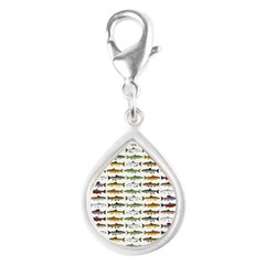 14 Trout and Salmon Pattern cp Charms