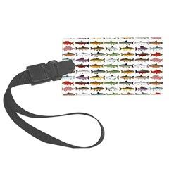 14 Trout and Salmon Pattern cp Luggage Tag