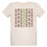 14 Trout and Salmon Pattern cp T-Shirt