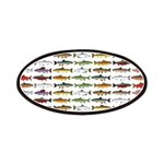 14 Trout and Salmon Pattern cp Patch