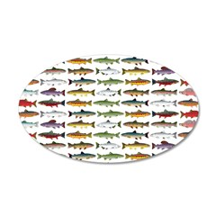 14 Trout and Salmon Pattern cp Wall Decal