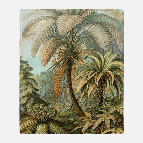 Unique Tropical Throw Blanket