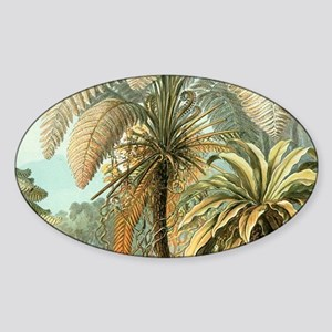Vintage Tropical Palm Sticker