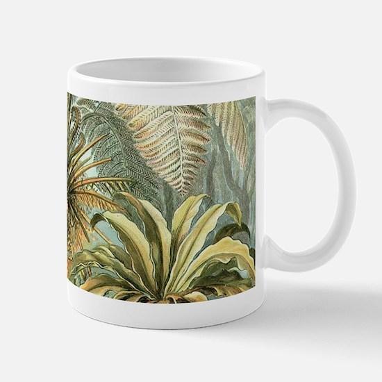Vintage Tropical Palm Mugs