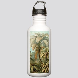 Vintage Tropical Palm Stainless Water Bottle 1.0L