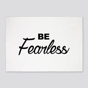be fearless 5'x7'Area Rug