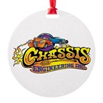 Chassis Engineering Round Ornament