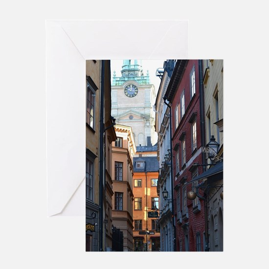 Cute Architecture Greeting Card