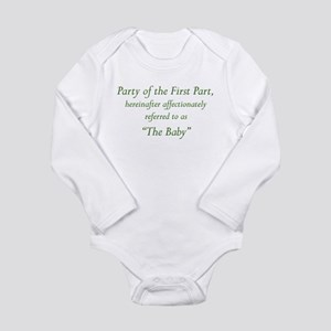 Party of the First Part Body Suit