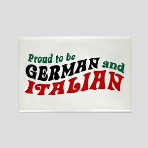German Italian Rectangle Magnet