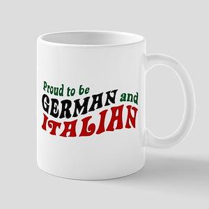 German Italian Mug