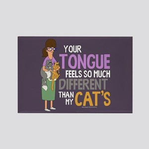 Bob's Burgers Gayle Cats Rectangle Magnet