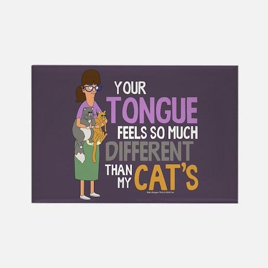 Bob's Burgers Gayle Cats Rectangle Magnet