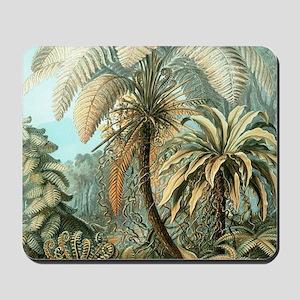 Vintage Tropical Palm Mousepad